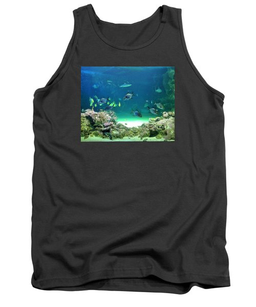 Tank Top featuring the photograph Sea Life by Kay Gilley