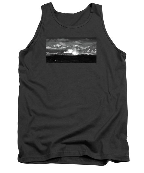 Tank Top featuring the photograph Sea Meets Sky by Nareeta Martin