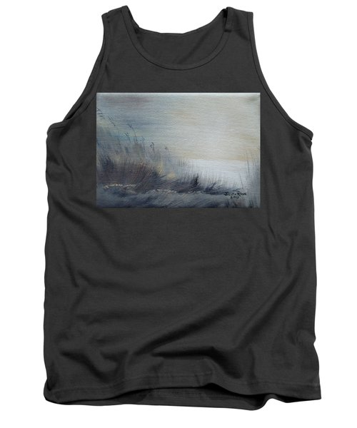 Tank Top featuring the painting Sea Oats by Judith Rhue