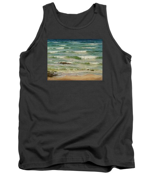 Sea Symphony. Part 1. Tank Top
