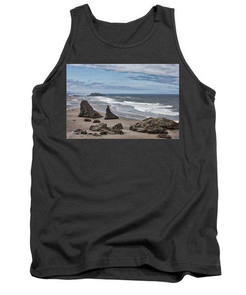 Sea Stacks And Surf Tank Top
