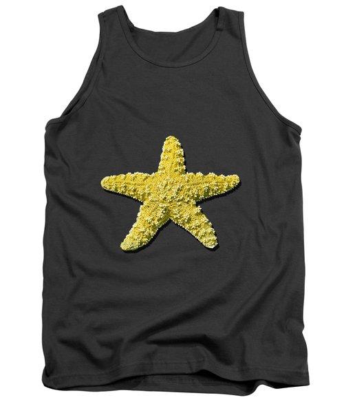 Sea Star Yellow .png Tank Top