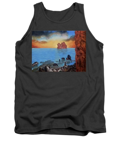 Sea Sunset Tank Top