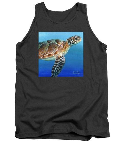 Sea Turtle 2 Of 3 Tank Top