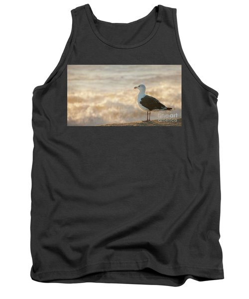 Seagull At Sunrise Tank Top