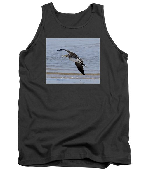 Seagull With Shrimp Tank Top