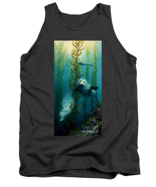 Seals Of The Sea Tank Top by Ruanna Sion Shadd a'Dann'l Yoder