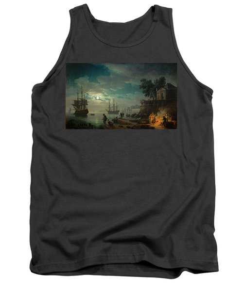 Seaport By Moonlight Tank Top