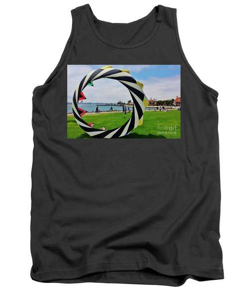Tank Top featuring the photograph Seaport Villagethrough My Lens by Jasna Gopic