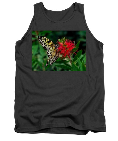 Tank Top featuring the photograph Searching For Nectar by Nick Bywater