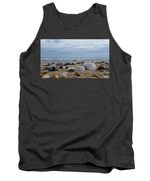 Seashells Seagull Seashore Tank Top