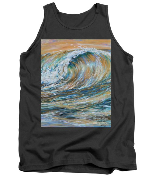 Seaspray Gold Tank Top