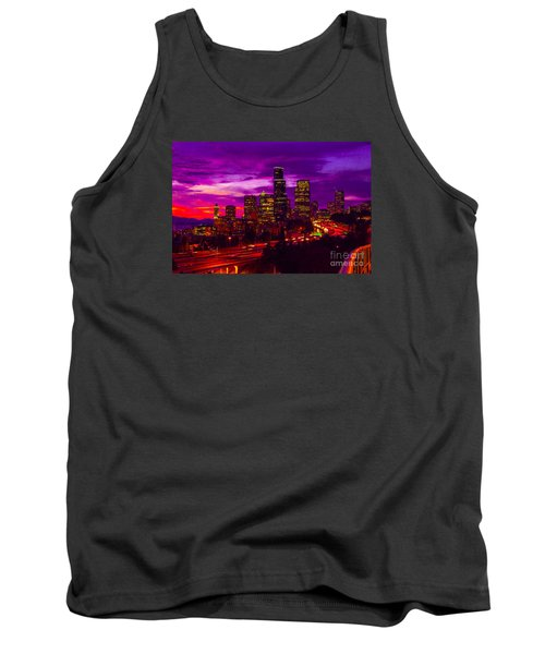 Seattle Shades Of Purple Tank Top