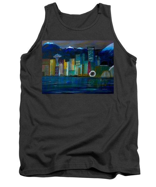 Seattle Skyiline Tank Top