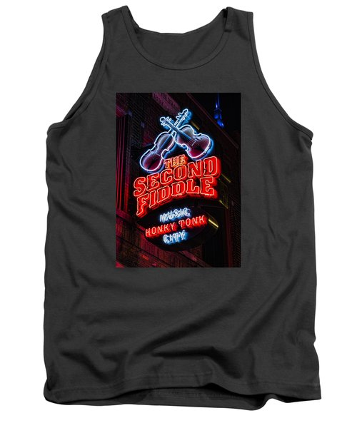 Second Fiddle Tank Top
