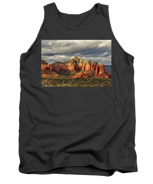 Tank Top featuring the photograph Sedona Skyline by James Eddy