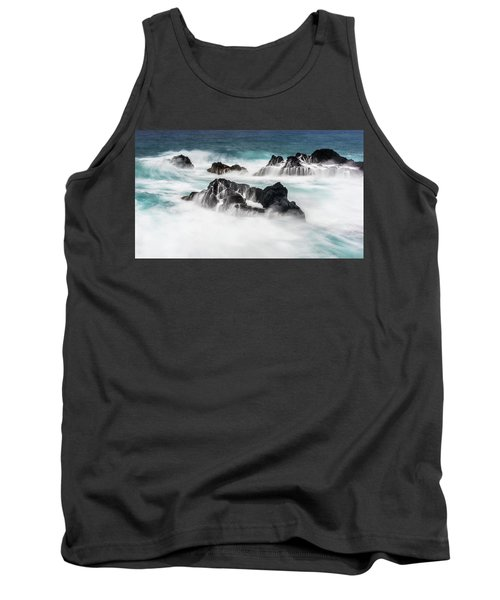Tank Top featuring the photograph Seduced By Waves by Jon Glaser