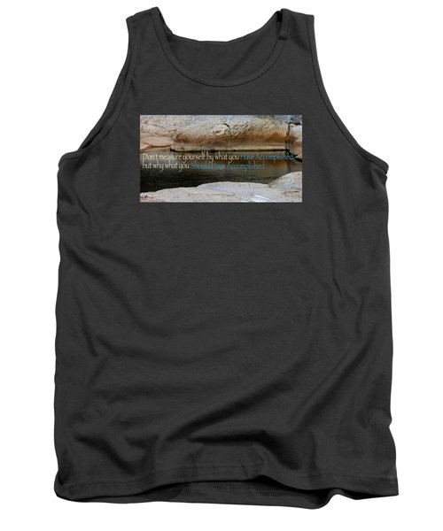 Tank Top featuring the photograph Seek Deeper by David Norman