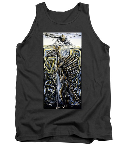 Self-portrait- Meme Tank Top