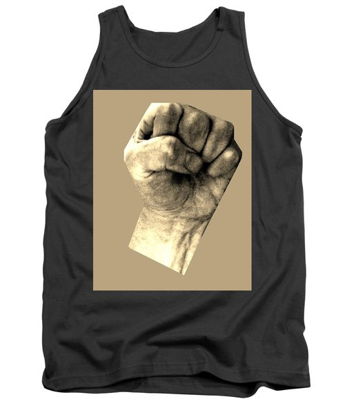 Tank Top featuring the photograph Self Portrait Too by Cletis Stump