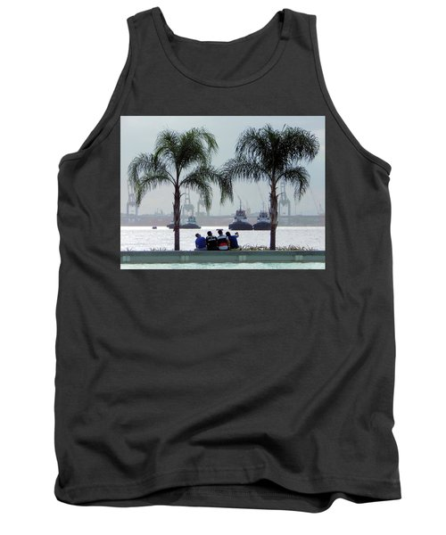 Selfie Us Tank Top by Beto Machado