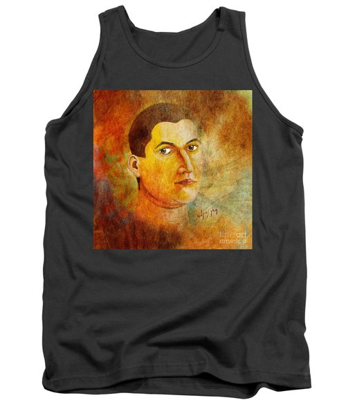 Selfportrait Oil Tank Top
