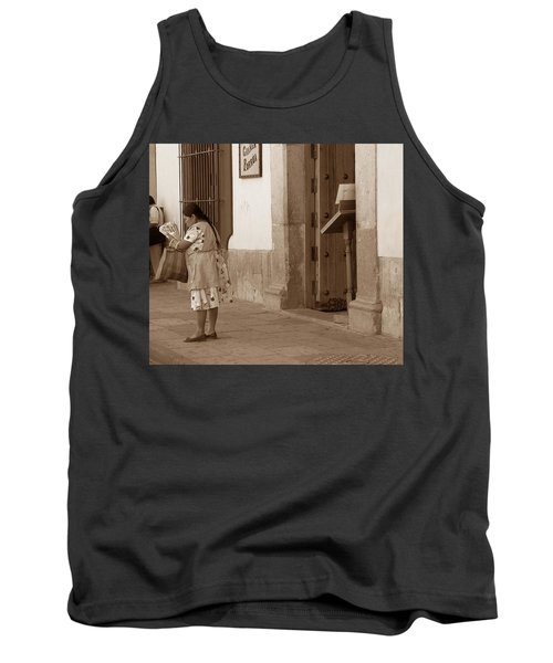 Tank Top featuring the photograph Senora by Mary-Lee Sanders