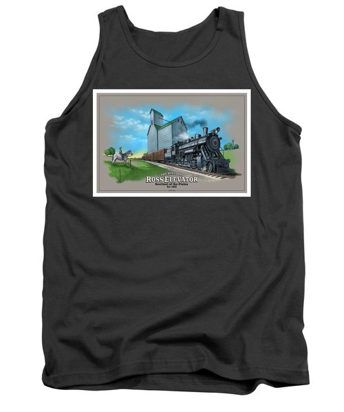 The Ross Elevator Sentinel Of The Plains Tank Top by Scott Ross