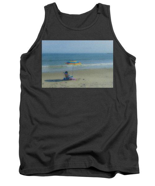 September Beach Reader Tank Top