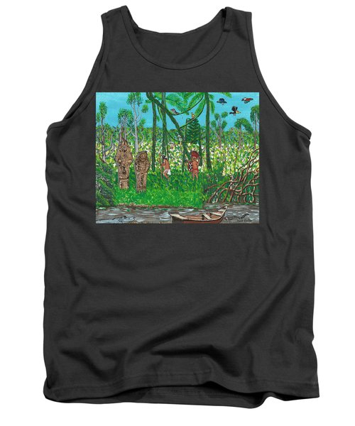 September   Hunters In The Jungle Tank Top