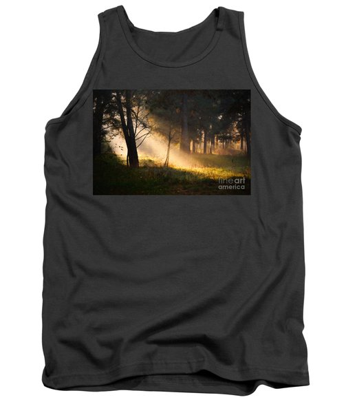 Tank Top featuring the painting September Impressions by Rosario Piazza