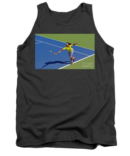 Serena Williams 1 Tank Top by Nishanth Gopinathan