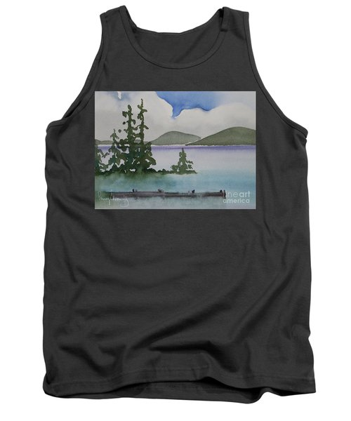 Serene Morning On Lake Superior Tank Top