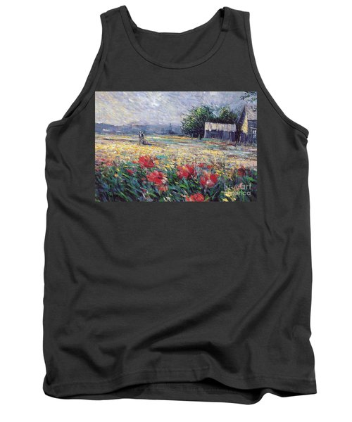 Tank Top featuring the painting Serenety by Rosario Piazza