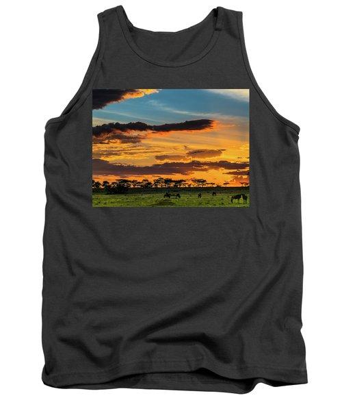 Serengeti Sunset Tank Top