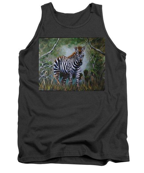 Serengeti Zebra Tank Top