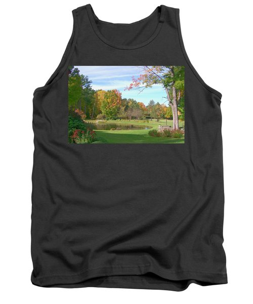 Tank Top featuring the digital art Serenity by Barbara S Nickerson