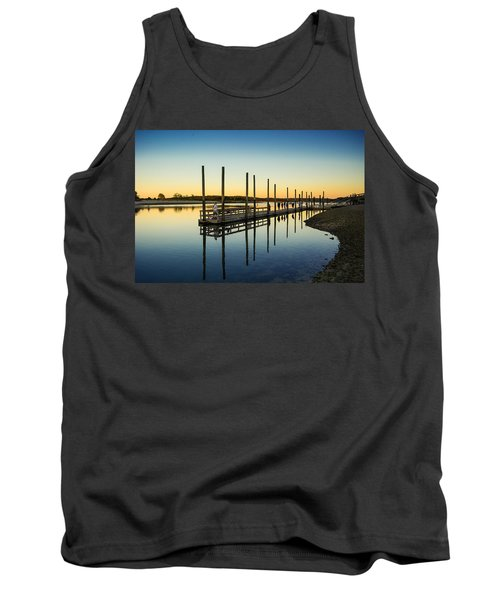 Serenity Sunset Kings Park New York Tank Top