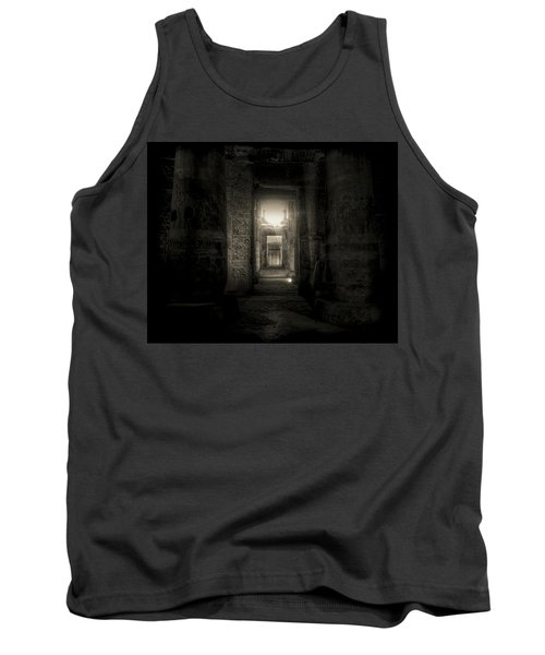 Tank Top featuring the photograph Seti I Temple Abydos by Nigel Fletcher-Jones