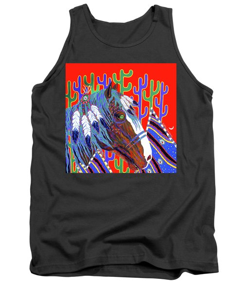 Seven Feathers Tank Top