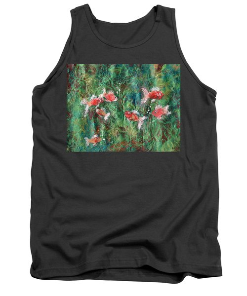 Seven Little Fishies Tank Top
