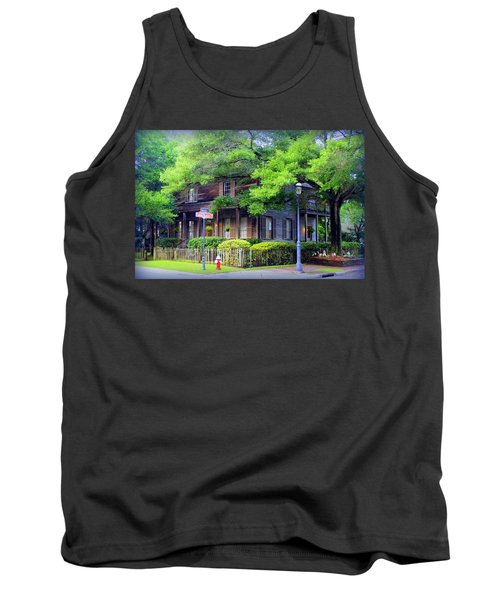 Seville Wooden House Tank Top