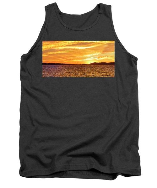 Sf Bay Area Sunset Tank Top