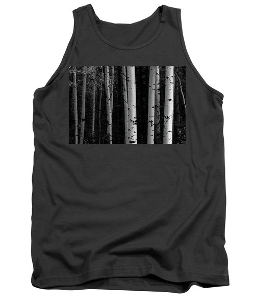 Tank Top featuring the photograph Shades Of A Forest by James BO Insogna