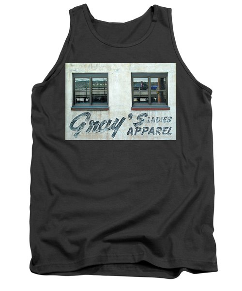 Tank Top featuring the photograph Shades Of Gray by Ethna Gillespie
