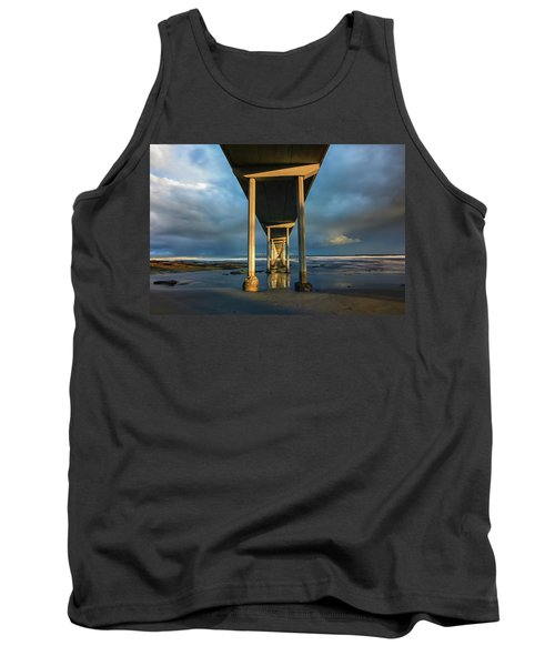 Shadow And Light Tank Top by Joseph S Giacalone