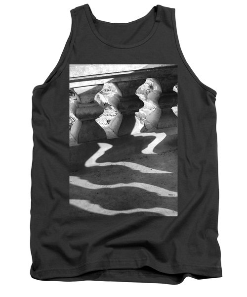 Shadow Of Railing Tank Top