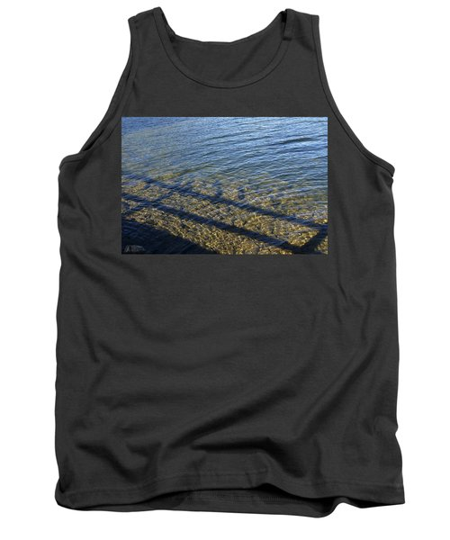 Tank Top featuring the photograph Shadow Play by Rhonda McDougall