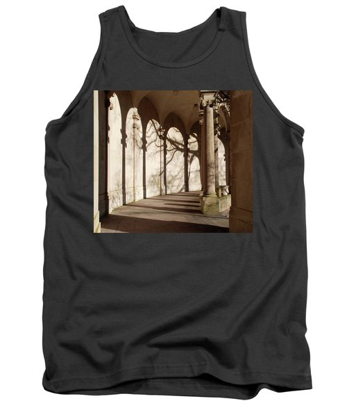 Tank Top featuring the photograph Shadows And Curves by Richard Bryce and Family