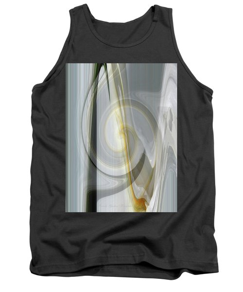 Shadows And Light - Iris Abstract - Manipulated Photography Tank Top